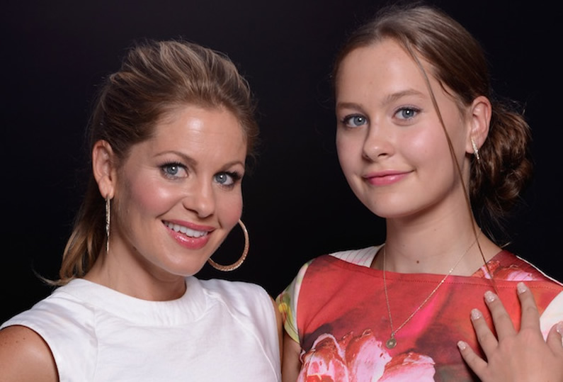 Candace Cameron Bure and her daughter Natasha Bure